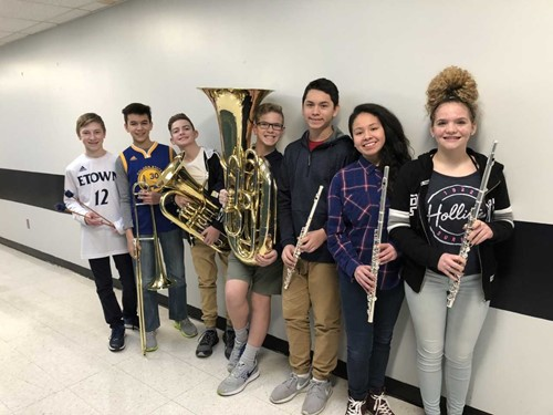 All-District Middle School Band