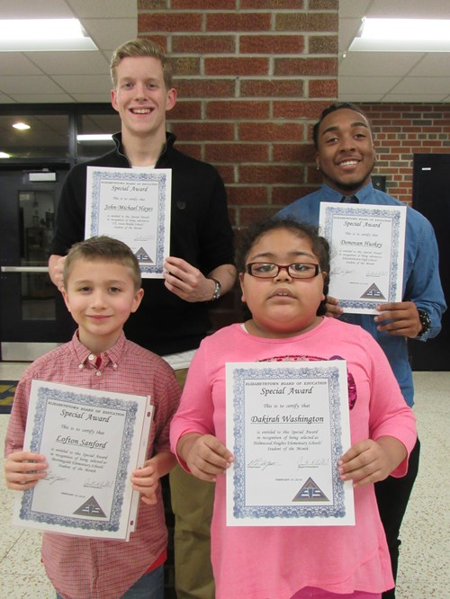 Students of the Month-February