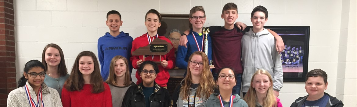 TK Stone wins district and region Governor's Cup competition.