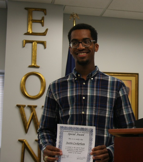 EHS Student of Month, September