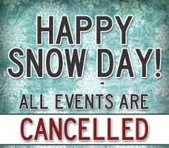 Snow Day - All Activities Cancelled at EHS