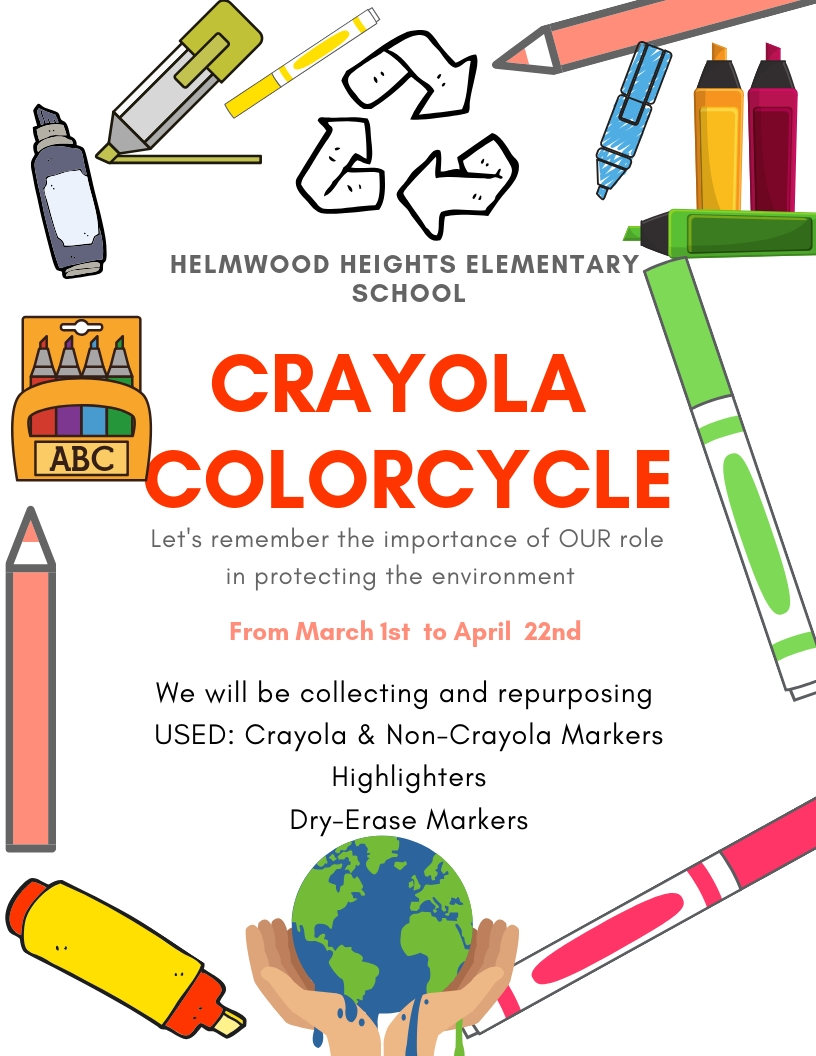 HHES Crayola Colorcycle