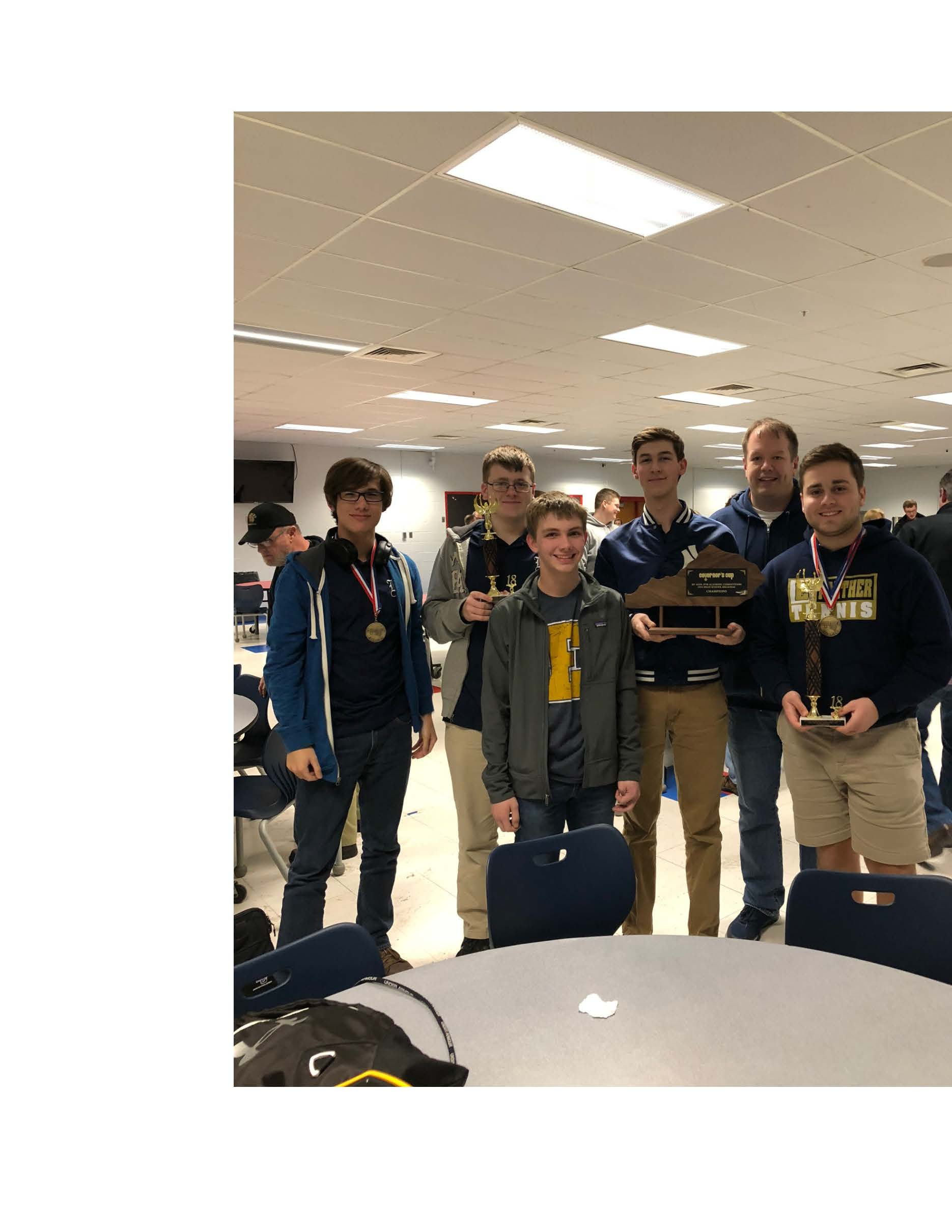 EHS Academic Team-Regional Champs!