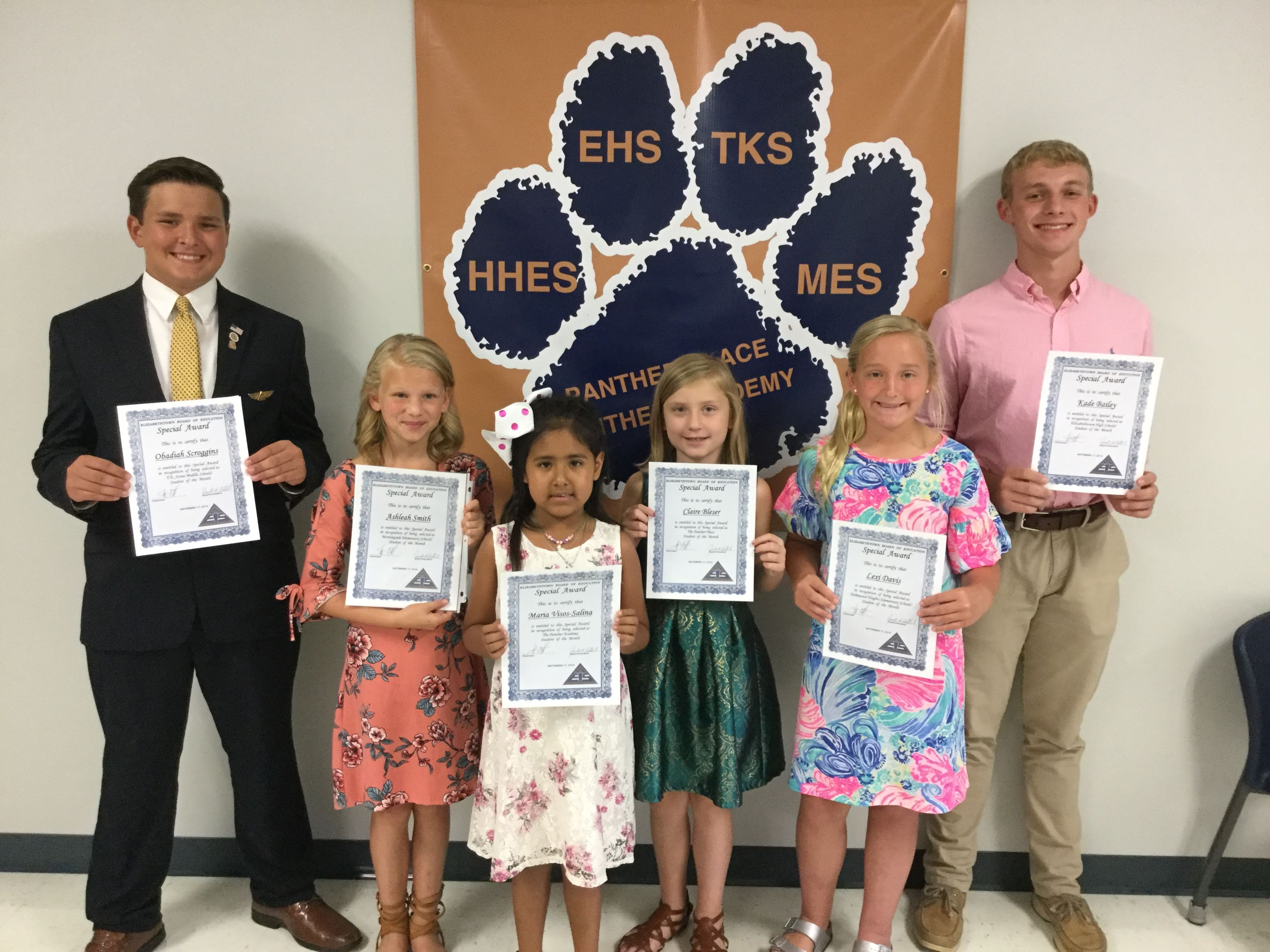 Students of the Month-September