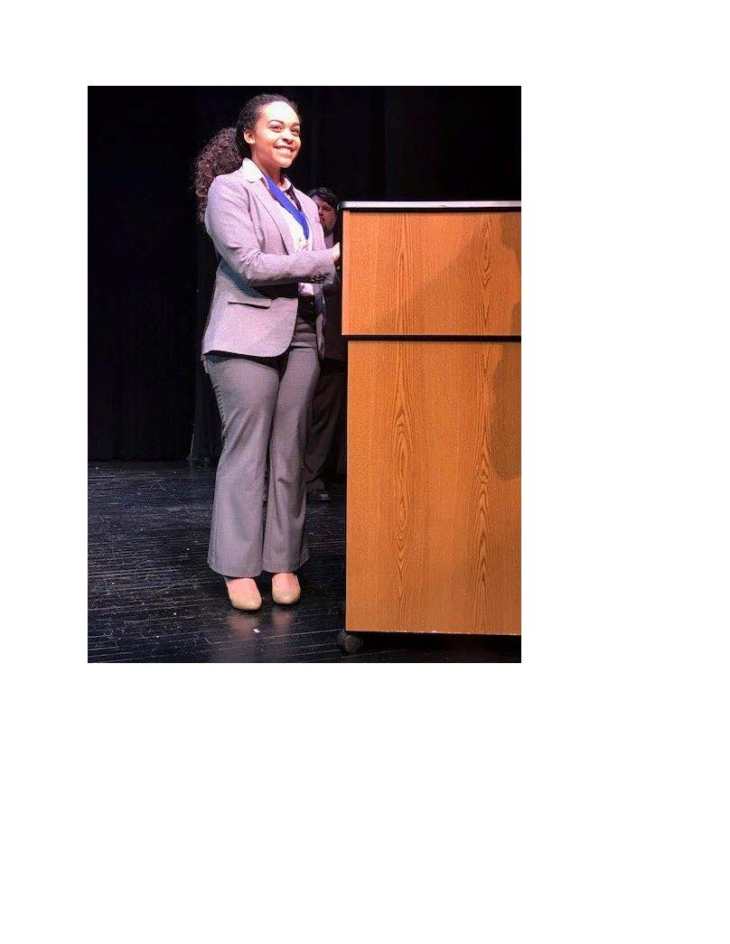 Kiara Jones, State Winner Poetry Out Loud