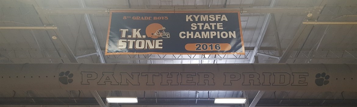 TKS Football Champion Banner